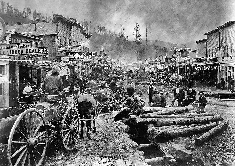 Deadwood, South Dakota; circa1876