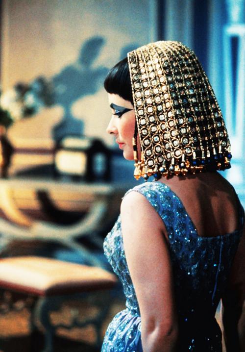 """Elizabeth Taylor in """"Cleopatra"""", 1963"""