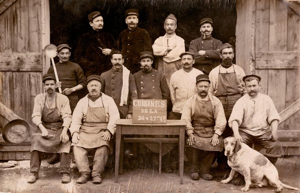 Cuisiniers de l'Armee Francaise, Premiere GuerreMondiale
