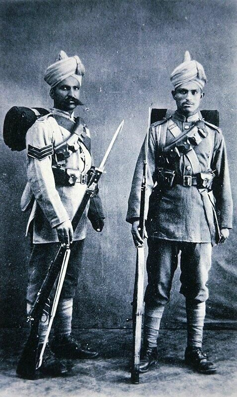 Indian Soldiers in the British Colonial Army