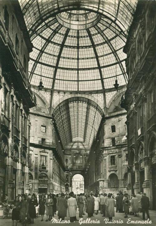 Galleria Vittorio Emanuele, Milano,Italia