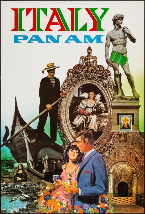 Pan Am poster,1960s