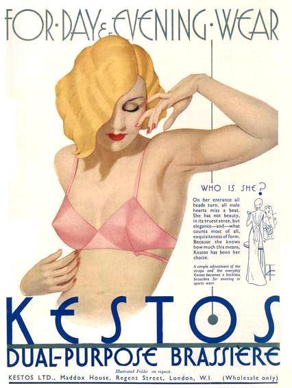 Kestos Dual-Purpose Brassiere, London,1930s