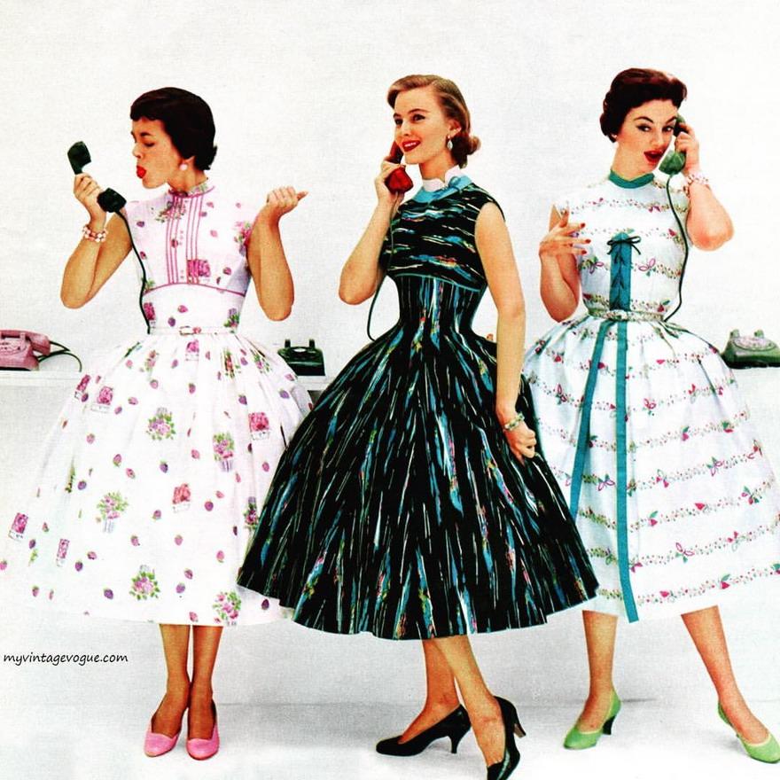 Late 1950s Dresses
