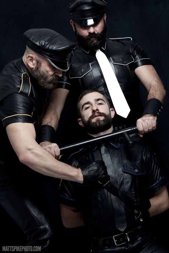Bearded Leather Trio