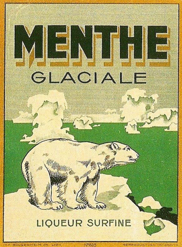 Menthe Glaciale Liqueur
