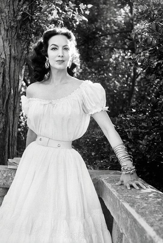 Mexican actress Maria Felix,1950s