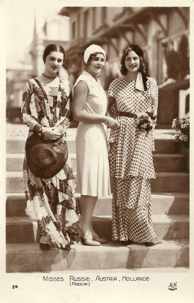 Misses Russia, Austria, and Holland(1930)