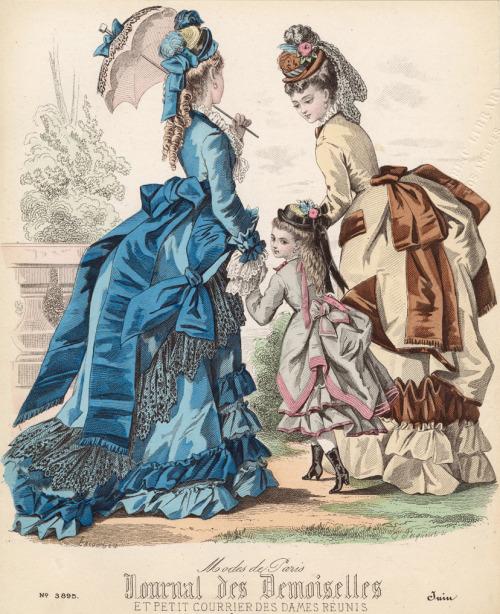 Bustlemania: Journal des Demoiselles,1873