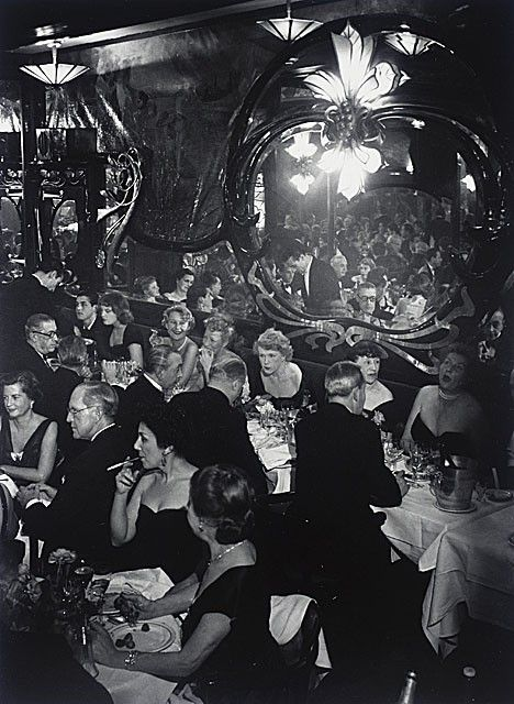 Moulin Rouge, Paris, 1937, byBrassai