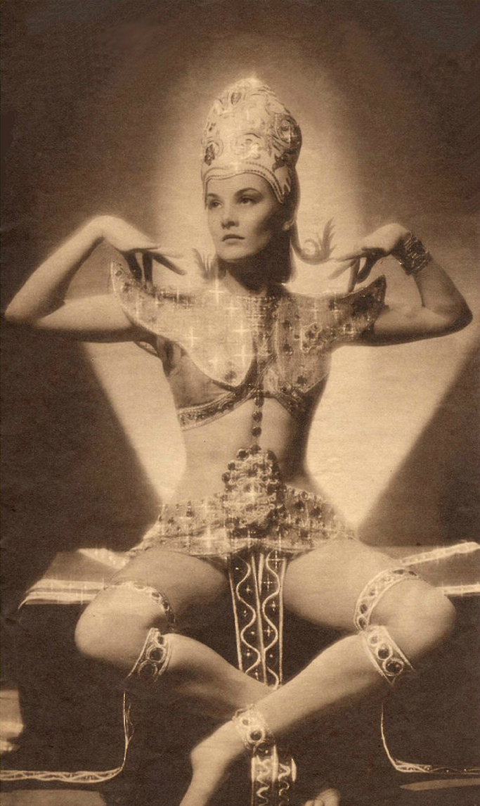 South African Dancer and Actress Pearl Argyle