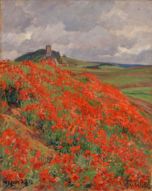 radiant-poppies-on-eifel-hallways-fritz-von-wille
