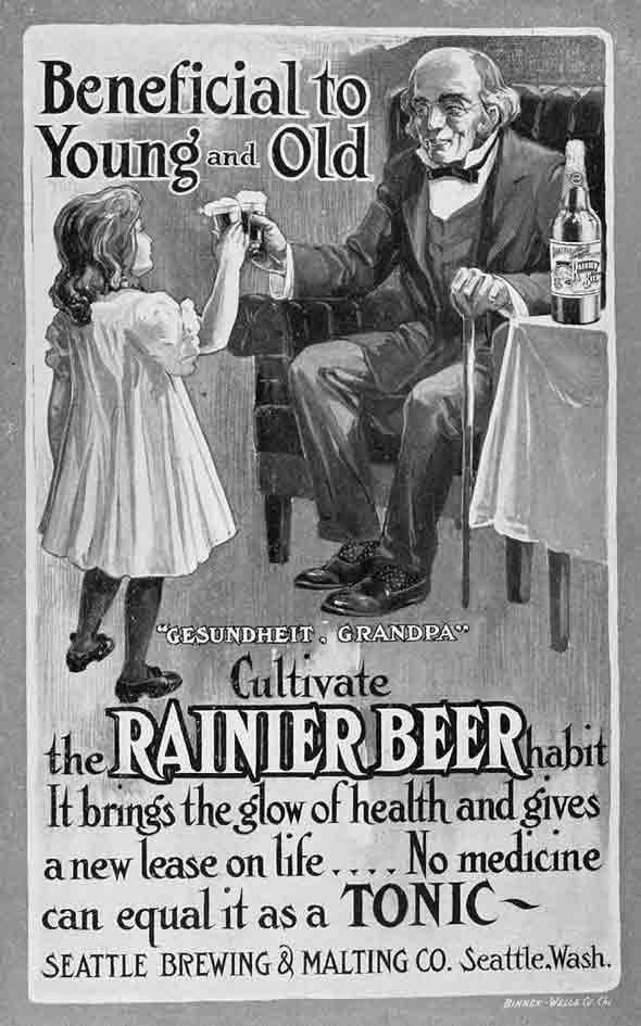 Beneficial to young and old…beer