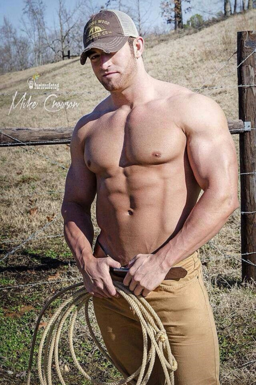 Gratuitous Shirtless Ranch Hand