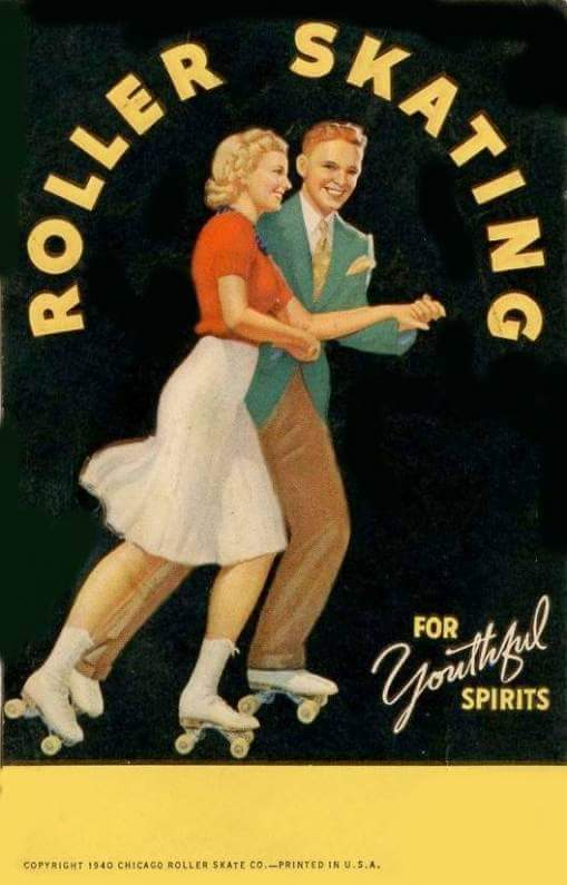 Roller skating… for youthful spirits