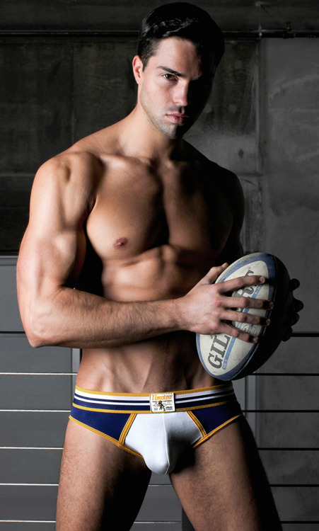 Gratuitous Shirtless Rugby Player