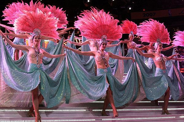 Las Vegas Showgirls