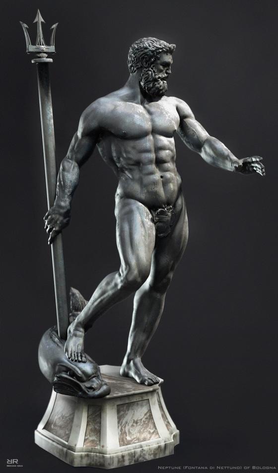 statue-poseidon
