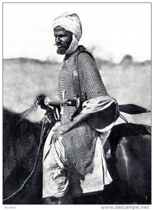 Vintage Sudanese Warrior