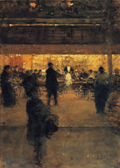 the-night-cafe-luigi-loir-1910