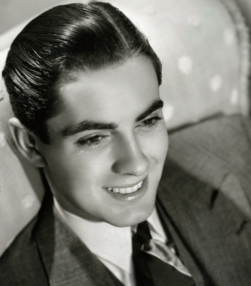 Young Tyrone Power