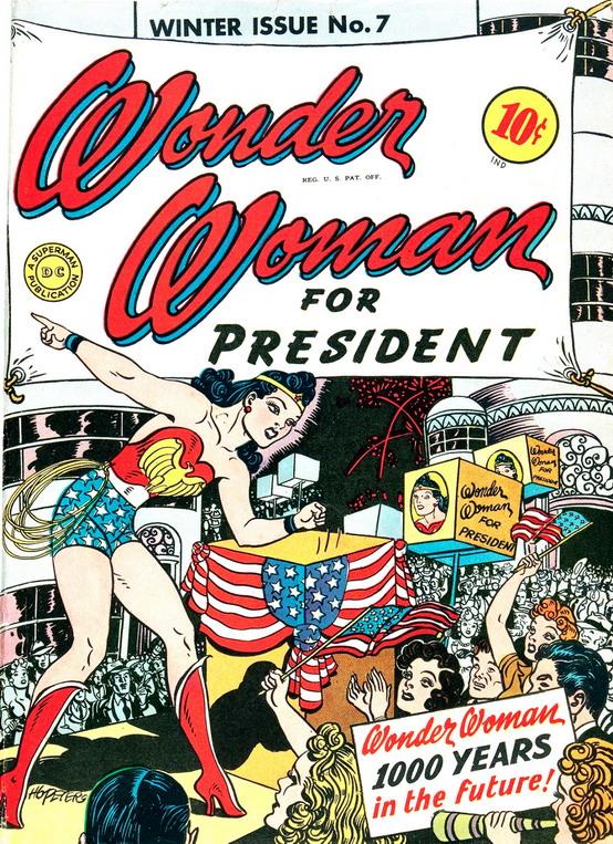 Wonder Woman forPresident