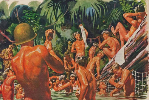 wwii-soldiers-bathing