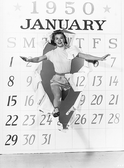 Vera-Ellen, Happy New Year 1950