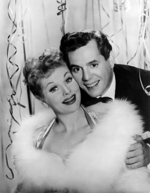 Happy New Year from Lucy and Desi