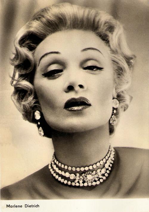 Marlene Dietrich, early1950s