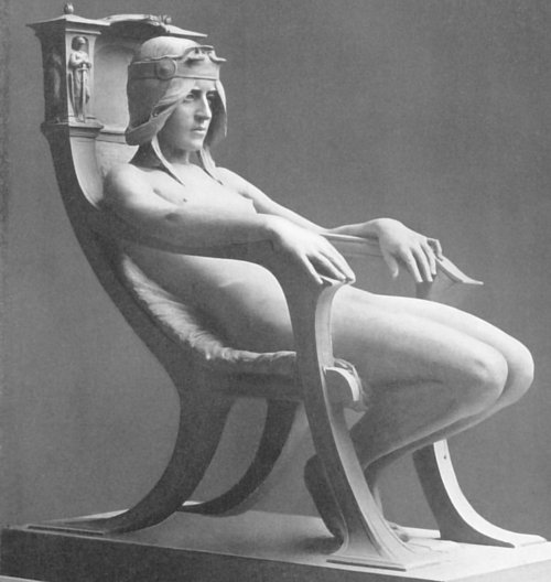 statue-seated