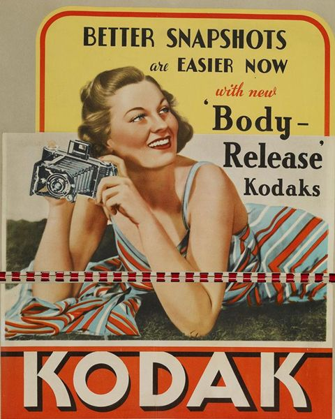 Body Release Kodak Cameras, guessing late 1920s