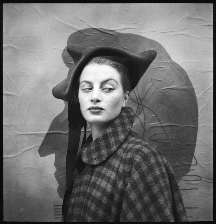 1950s Supermodel Capucine by Richard Avedon