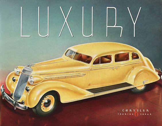 Luxury: Chrysler Touring Sedan, 1930s