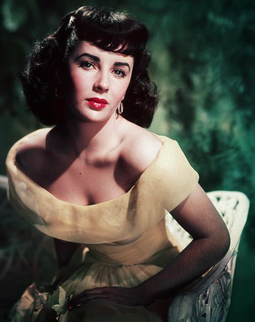 Elizabeth Taylor by Paul Hesse,1950s