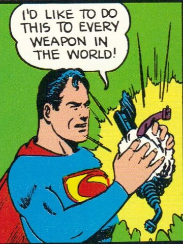 Superman as apacifist