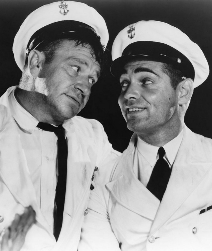 "Wallace Beery and Clark Gable in ""Hell Divers"", 1931"