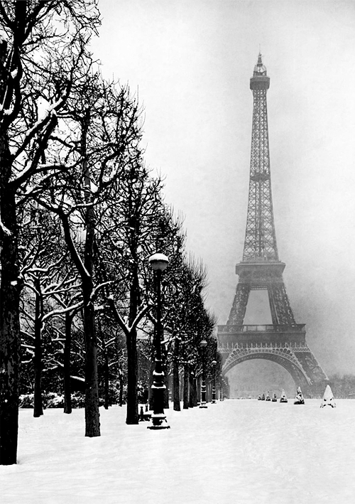 Winter In Paris by Dmitri Kessel, 1948