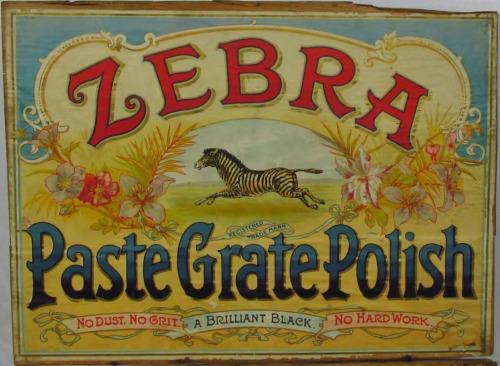 Zebra Paste GratePolish