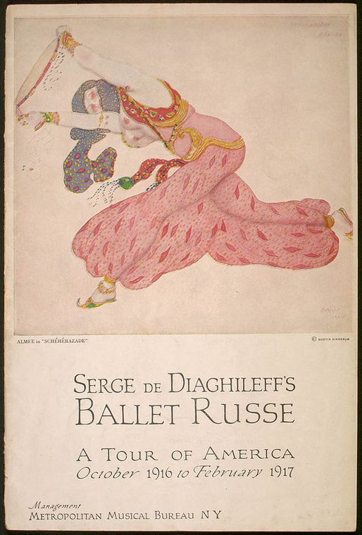 Serge de Diaghileff's Ballet Russe,1917