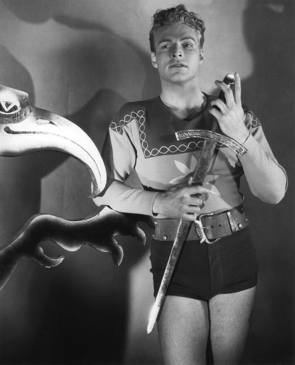 Who wears short-shorts? Buster Crabbe!