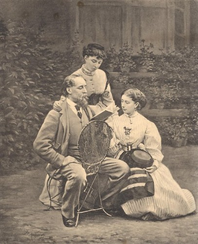 charles-dickens-reading-to-his-two-daughters-1869