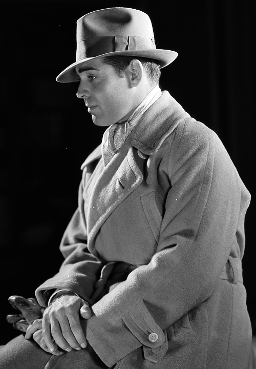 Clark Gable, photo by Clarence Sinclair Bull,1931