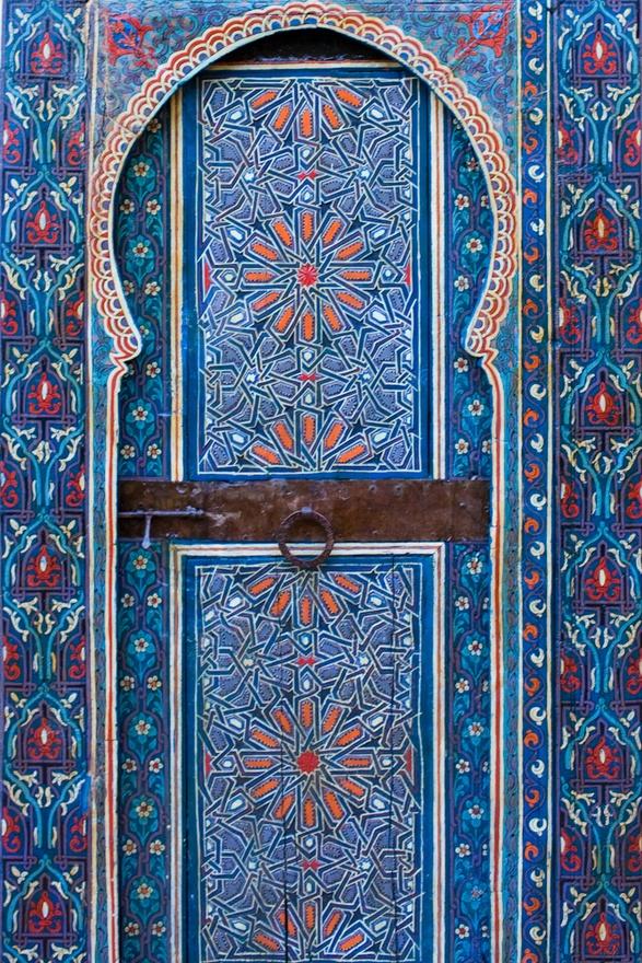 Blue Door, Morocco