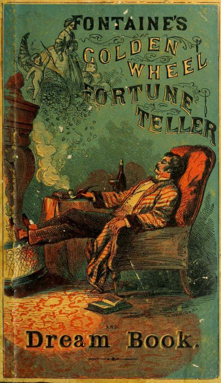 Fontaine's Golden Wheel Fortune Teller & Dreambook