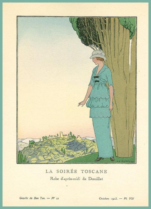 tuscan-evening-by-a-e-marty-for-french-magazine-gazette-du-bon-ton