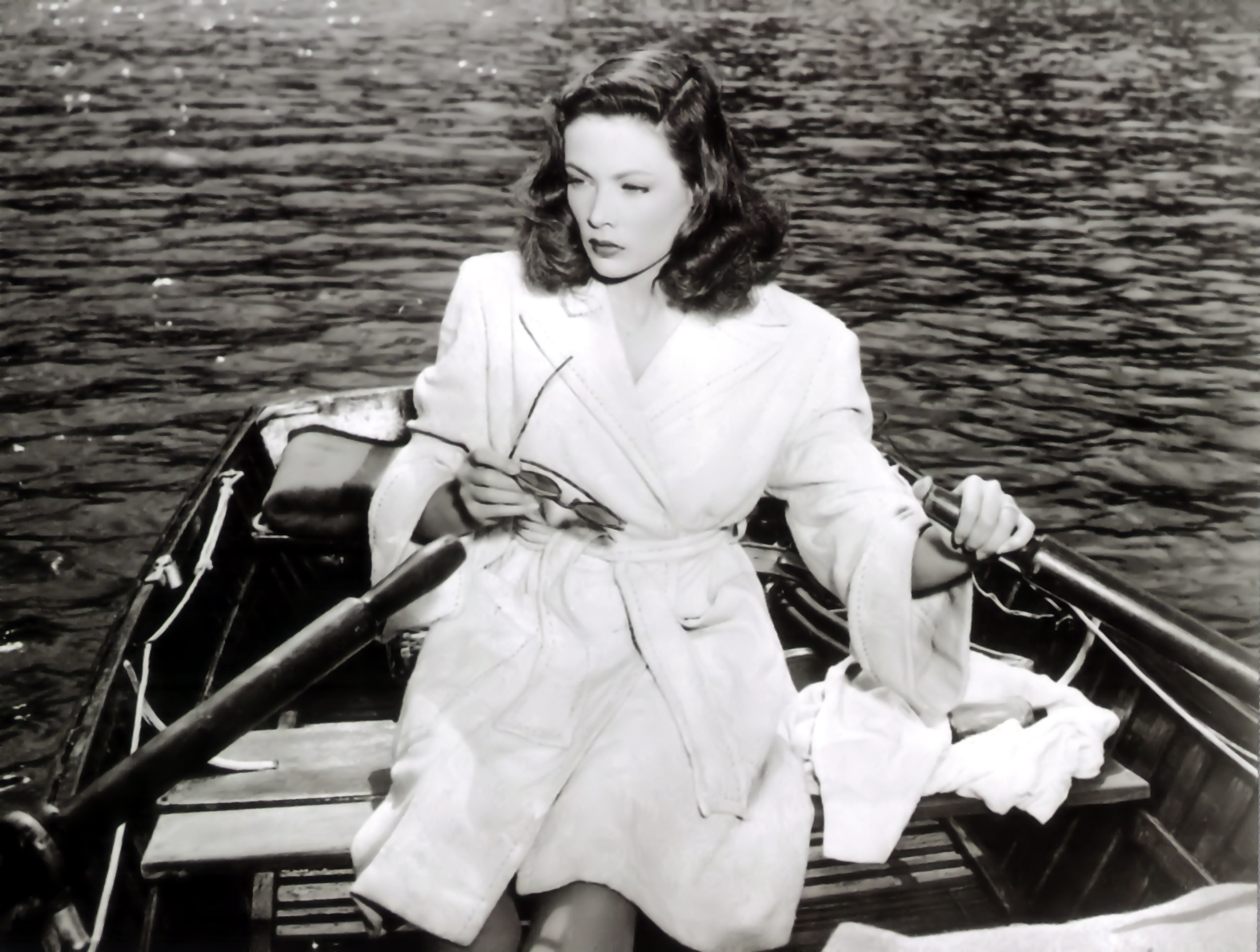 "Gene Tierney in ""Leave Her to Heaven"""