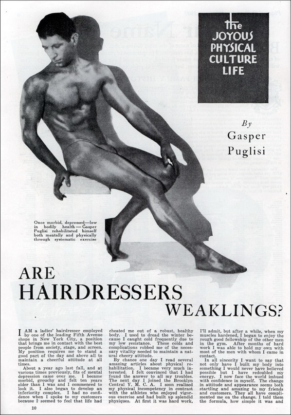 Are hairdressers weaklings?