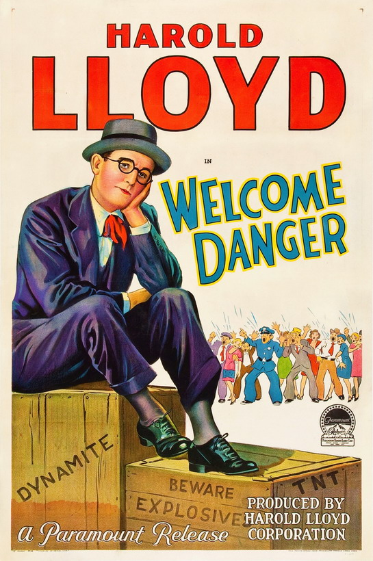 Harold Lloyd in Welcome Danger
