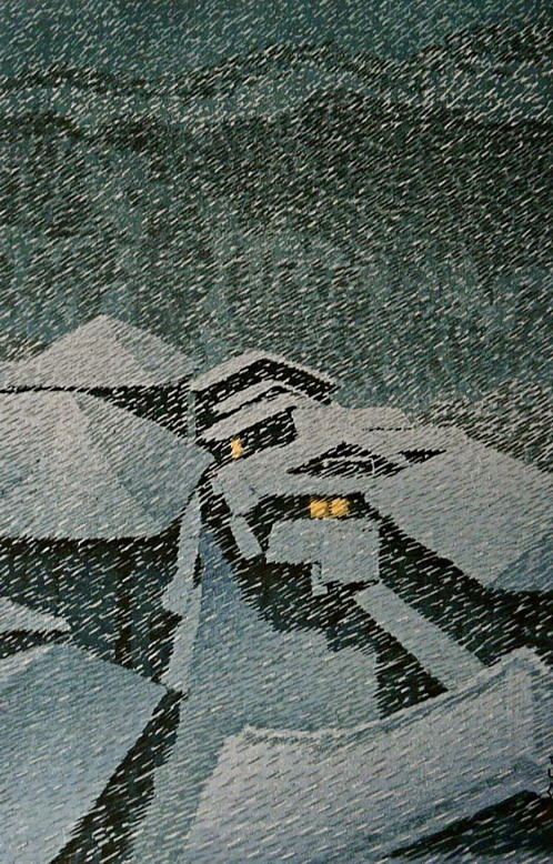 Snow in Japanese Art